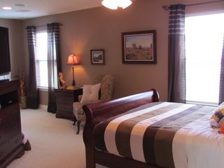 Overlooking the pool,stable,and pastures. - Houston house vacation rental photo