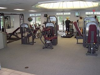 Venice villa photo - Fitness room at the club house.