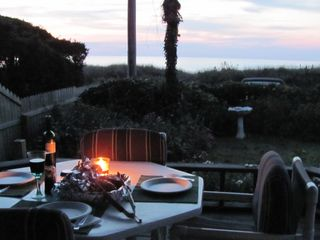 Dinners on the patio watching the sunset!