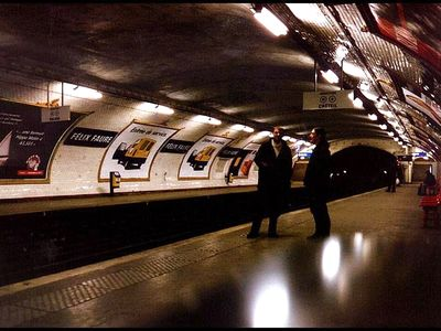 Use the Metro to travel throughout Paris.