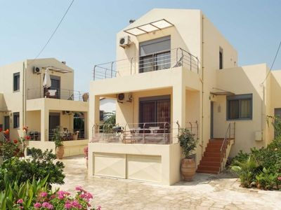 Almirida villa rental - The exterior of our villa