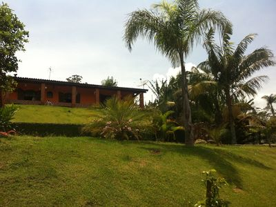 Beautiful ranch with 1. 000 m2 house with fireplace, mountain weather!