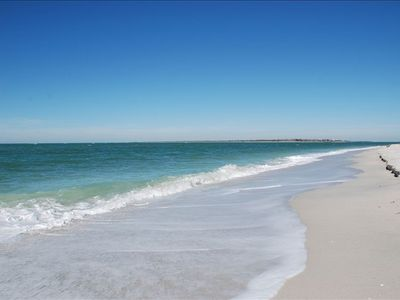 Miles of Pristine Sandy Beaches start right outside your door.