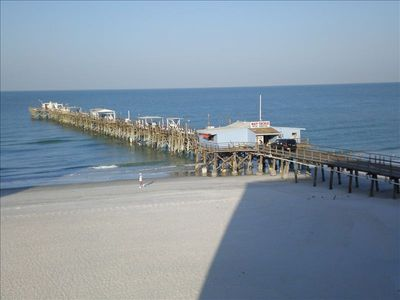 Redington Shores Long Fishing Pier located right next to Anglers.