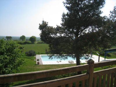 big house heated pool near St Emilion and Bordeaux