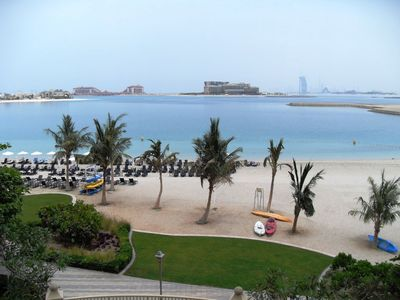 Palm Jumeira apartment rental - Full ocean view