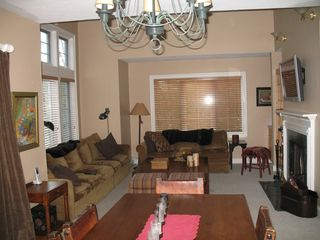 dining room into living room - Lincoln house vacation rental photo