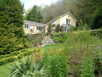 Idyllic Situation In Landscaped Gardens And Woodland In Beautiful Camel Valley
