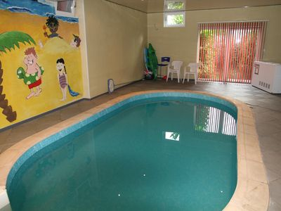Holiday House with indoor pool near Upper Sure Natural Reserve 10 minutes drive