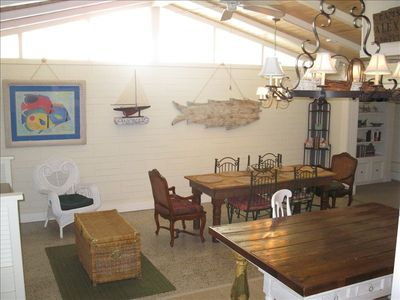 Vaulted Ceilings & an open floor plan provide plenty of space for gathering!