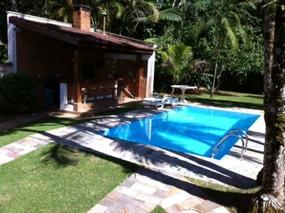 Beach house with pool, barbecue, pool table, 2 suites and 3