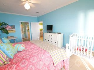 Orange Beach condo photo - Master bedroom with crib