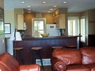 Crystal Mountain, Thompsonville condo rental - Main Living Area