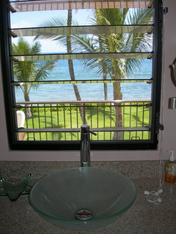 How is that for a view from your bathroom? !!