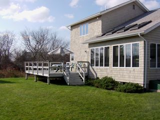 Backyard - Montauk house vacation rental photo