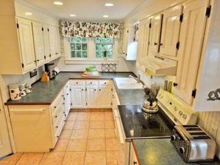 Edgartown house photo - Kitchen Is Well-Equipped For Vacation Entertaining