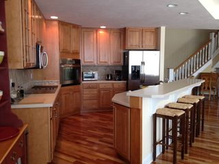 Manistee condo photo - Beautiful wood finish