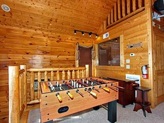 Pigeon Forge cabin photo - Foosball Table and Cocktail Style Multi-game Arcade Table
