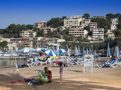 Port de Soller apartment rental - Beach at Port de Soller