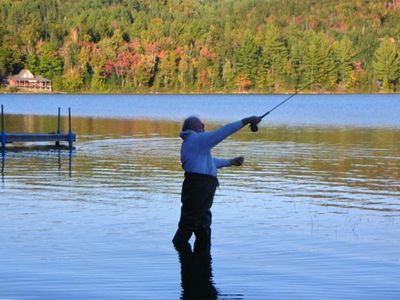 Salmon & trout Fishing in Long Pond