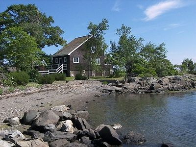 Private Island with View of Harbor, Lighthouse, and Open Ocean
