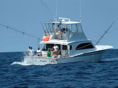 Charter a boat for some awesome deep sea fishing in the Gulf Stream