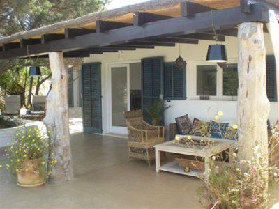 Nice House in the Natural Park at only 1 km from Es Pujols: Garden, WiFi, views