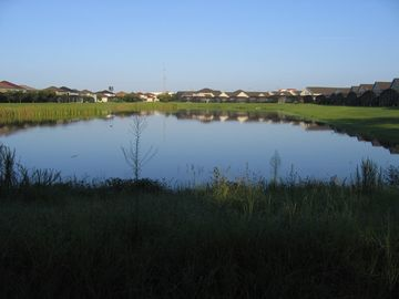 Glenbrook Lake. Fishing rods can be loaned from the Clubhouse