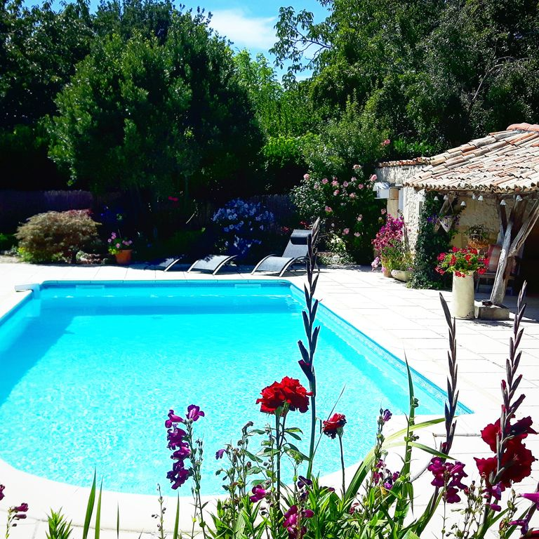 Gite With Stunning Views and Shared Pool With Owner