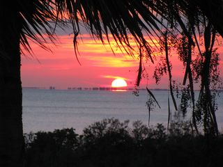 Fort Myers Beach condo photo - Watch the sunsets from the lanai