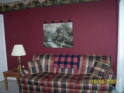 Beech Mountain condo rental - Bedroom 3 Downstairs Pullout Double Bed