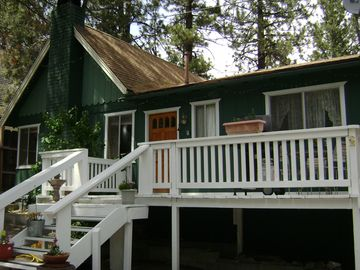 Wrightwood cabin rental - COZY KNOTTY PINE 2 BEDROOM, 1 BATH,FULL KITCHEN, LIVING ROOM WITH ROCK FIREPLACE