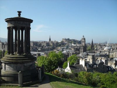 View from Calton Hill, well worth the climb.