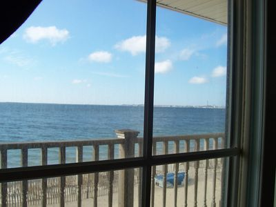 View from Master Bedroom-Spectacular view of ocean & Ptown day and night!!
