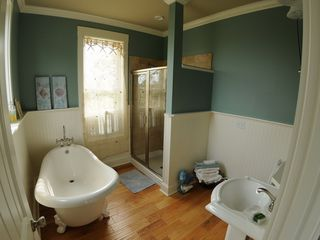 Harbor Island house photo - (1) of two master bathroms