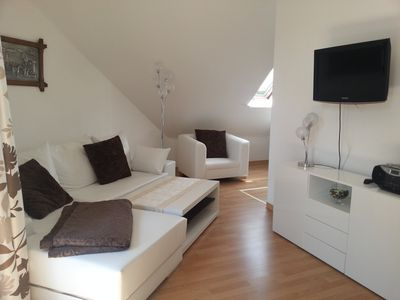 Comfortable apartments with balconies and private saunas