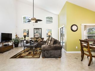 Highlands Reserve villa photo - Large Bright Open Concept Family Room that overlooks the dining room and kitchen