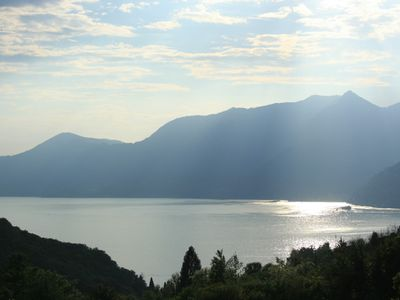 View of the lake from Villa Caruso & Villa Sereni