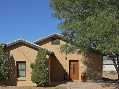 Downtown Marfa Gem ~ Authentic Adobe  ~  Newly remodeled
