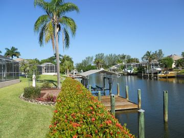 Cape Coral house rental - Gulf Access with 10,000# boat lift.