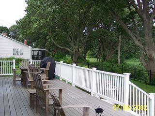 North Kingstown house photo - Beach Side Deck