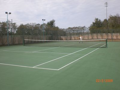Island Club West townhome rental - Tennis court