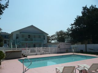 Crescent Beach cottage photo - Private 16X32 pool and hot tub!