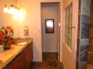St. George townhome photo - Master Bathroom With Large Shower & 2 Sinks