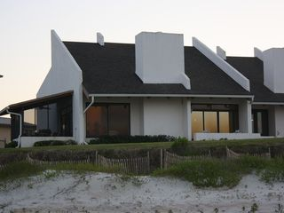New Smyrna Beach townhome photo - View from the beach - 20 yards away.