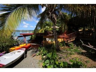 Culebra villa photo - Villa's Maritime Zone Yard leading to Dock Facilities..