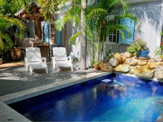 Key West cottage photo - Relax poolside