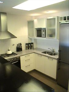 High End Kitchen with Stainless Steel Appliances