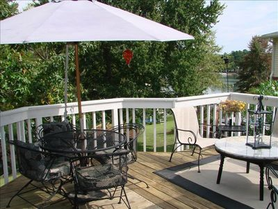 Lake Murray Luxury Vacation Rental Deck