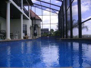 Formosa Gardens villa photo - Amazing Azure Blue 55ft Pool - Vanishing edge